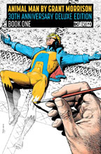 Image: Animal Man by Grant Morrison 30th Anniversary Deluxe Edition Vol. 01 HC  - DC Comics - Vertigo