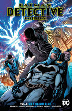 Image: Batman: Detective Comics Vol. 08 - On the Outside SC  - DC Comics
