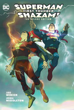 Image: Superman / Shazam!: First Thunder Deluxe Edition HC  - DC Comics
