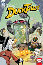Image: Ducktales #15 (cover B - Ghiglione) - IDW Publishing
