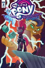 Image: My Little Pony: Nightmare Knights #2 (cover A - Fleecs) - IDW Publishing