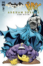 Image: Batman / The Maxx: Arkham Dreams #3 (cover B - Kieth) - IDW Publishing