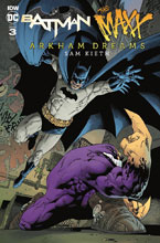 Image: Batman / The Maxx: Arkham Dreams #3 (incentive cover - Rodriguez) (10-copy)  [2018] - IDW Publishing
