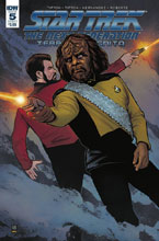 Image: Star Trek: The Next Generation: Terra Incognita #5 (cover A - Shasteen)  [2018] - IDW Publishing