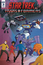 Image: Star Trek vs. Transformers #3 (cover A - Murphy) - IDW Publishing