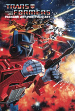 Image: Transformers Package Art Portfolio Set  - IDW Publishing