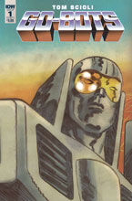 Image: Go-Bots #1 (cover A - Scioli) - IDW Publishing