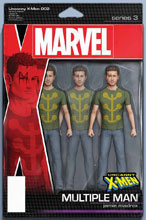Image: Uncanny X-Men #2 (variant Action Figure cover - Christopher) - Marvel Comics