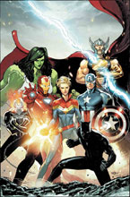 Image: Avengers #10 (variant cover - Marquez) - Marvel Comics