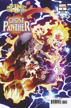 Image: Infinity Wars: Ghost Panther #1 (variant Connecting cover - Kubert) - Marvel Comics