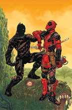 Image: Black Panther vs. Deadpool #2 (variant cover - Skroce) - Marvel Comics