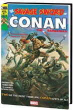 Image: Savage Sword of Conan Original Marvel Years Omnibus Vol. 01 HC  (DM cover - Vallejo) - Marvel Comics