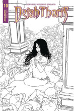 Image: Dejah Thoris Vol. 02 #10 (incentive cover - McKone B&W) (20-copy) - Dynamite
