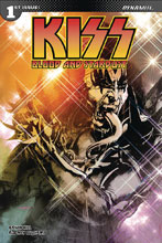 Image: Kiss: Blood Stardust #1 (remarked cover - Haeser) - Dynamite