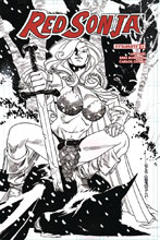 Image: Red Sonja Vol. 04 #23 (incentive cover - Williams B&W) (20-copy)  [2018] - Dynamite