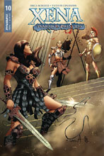 Image: Xena: Warrior Princess Vol. 02 #10 (cover A - Davila) - Dynamite