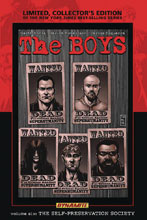 Image: Boys Limited Edition Vol. 06: Self-Preservation Society HC  (signed - Robertson) - Dynamite
