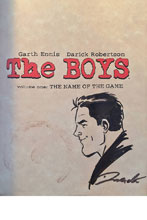 Image: Boys Vol. 01: Name of the Game SC  (remarked - Robertson) - Dynamite