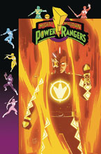 Image: Mighty Morphin Power Rangers #33 (variant cover Preorder - Gibson) - Boom! Studios