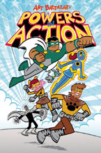 Image: Powers in Action #1 - Action Lab Entertainment