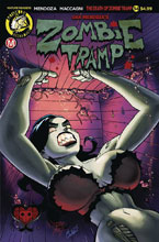 Image: Zombie Tramp #54 (cover A - Winston Young)  [2018] - Action Lab - Danger Zone