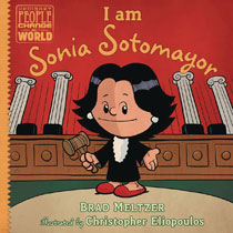 Image: I Am Sonia Sotomayor HC  (Young Readers) - Dial Books