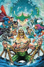 Image: Justice League / Aquaman  (DFE signed - Porter) (Plus One) - Dynamic Forces