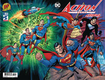 Image: Action Comics #1000 (variant DFE cover - wraparound) (DFE CGC Graded) - Dynamic Forces