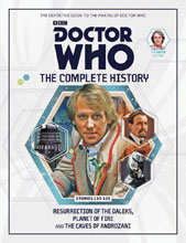 Image: Doctor Who Complete History Vol. 85: 5th Doctor Stories  (133-135) HC - Hachette Partworks