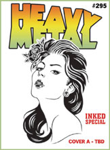 Image: Heavy Metal #295 (cover A - ) - Heavy Metal Magazine