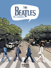 Image: Beatles in Comics HC  - NBM