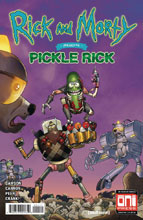 Image: Rick & Morty Presents: Pickle Rick #1 (cover A - CJ Cannon) - Oni Press Inc.
