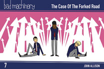 Image: Bad Machinery Pocket Edition Vol. 07: Case Forked Road GN  - Oni Press Inc.