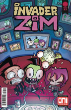 Image: Invader Zim #37 (cover A - Warren Wucinich, Fred Stresing) - Oni Press Inc.