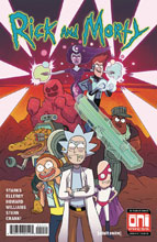 Image: Rick & Morty #44 (cover A - Marc Ellerby) - Oni Press Inc.