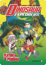 Image: Dinosaur Explorers Vol. 03: Playing in the Permian GN  - Papercutz