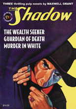 Image: Shadow #136: The Wealth Seeker, Guardian of Death & Murder in White SC  - Sanctum Productions