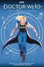 Image: Doctor Who: The 13th Doctor #2 (cover A - Ganucheau) - Titan Comics
