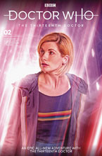 Image: Doctor Who: The 13th Doctor #2 (cover B - Brooks) - Titan Comics