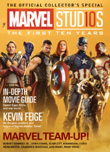 Image: Marvel Studios: First 10 Years  (newsstand cover) - Titan Comics
