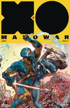 Image: X-O Manowar [2017] #21 (cover D incentive - Interlocking Guedes) (20-copy) - Valiant Entertainment LLC