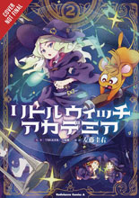 Image: Little Witch Academia Vol. 02 GN  - Yen Press