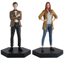 Image: Doctor Who Figure Collectible Companion Set #1 (Eleventh Doctor & Amy Pond) - Eaglemoss Publications Ltd