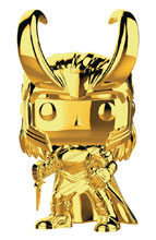 Image: Pop! Marvel Vinyl Bobble-Head 376: Marvel Studios First Ten Years - Loki  - Funko