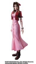 Image: Crisis Core Final Fantasy VII Play Arts Kai Action Figure: Aerith  - Square Enix Inc