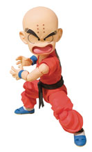 Image: Dragonball S.H. Figuarts Action Figure: Kid Krillin  - Tamashii Nations
