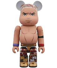 Image: New Japan Pro-Wrestling Bearbrick: Kazuchika Okada 100  - Medicom Toy Corporation
