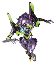 Image: Rebuild Evangelion Action Figure: Evangelion Unit 01 Parfom  (Metallic version) - Phat