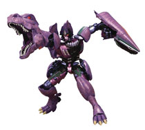 Image: Transformers Masterpiece Beast Wars Action Figure: Megatron  - Hasbro Toy Group