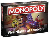 Image: Five Nights at Freddy's Monopoly Board Game  - Usaopoly